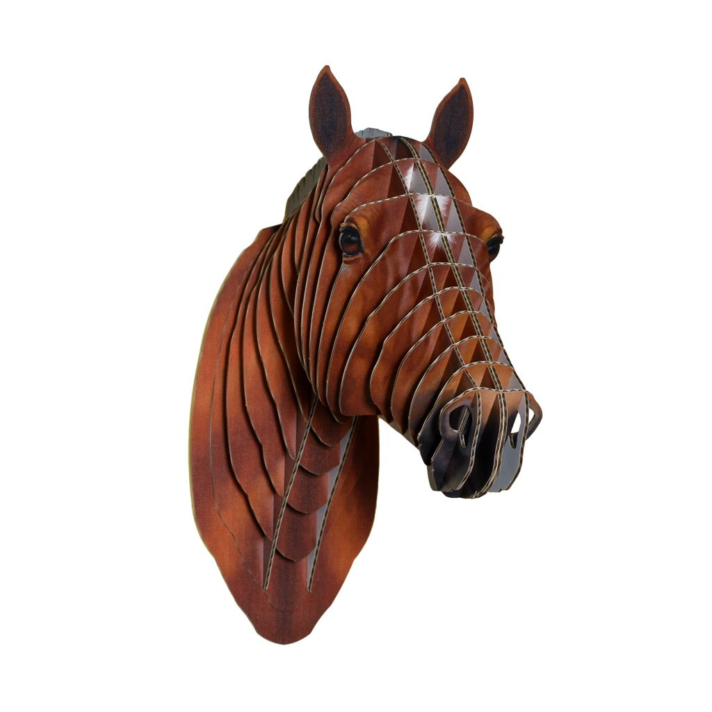 Amazon cardboard safari recycled cardboard animal taxidermy amazon cardboard safari recycled cardboard animal taxidermy horse trophy head pippin lifelike small home kitchen maxwellsz