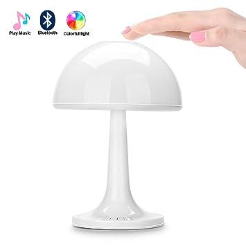 Liqoo LED Farbwechsel Stimmungslicht Nachtlicht mit Bluetooth ...