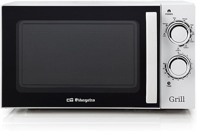 Orbegozo MIG 2030 - Microondas con grill (700 W de potencia, 20 L ...