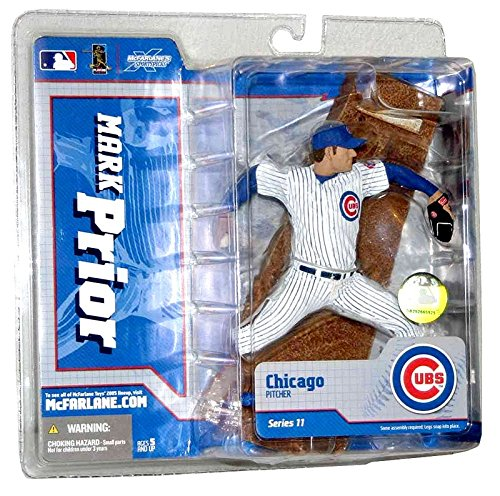 MLB Series 11 Figure: Mark Prior with Cubs Pinstripe Jersey