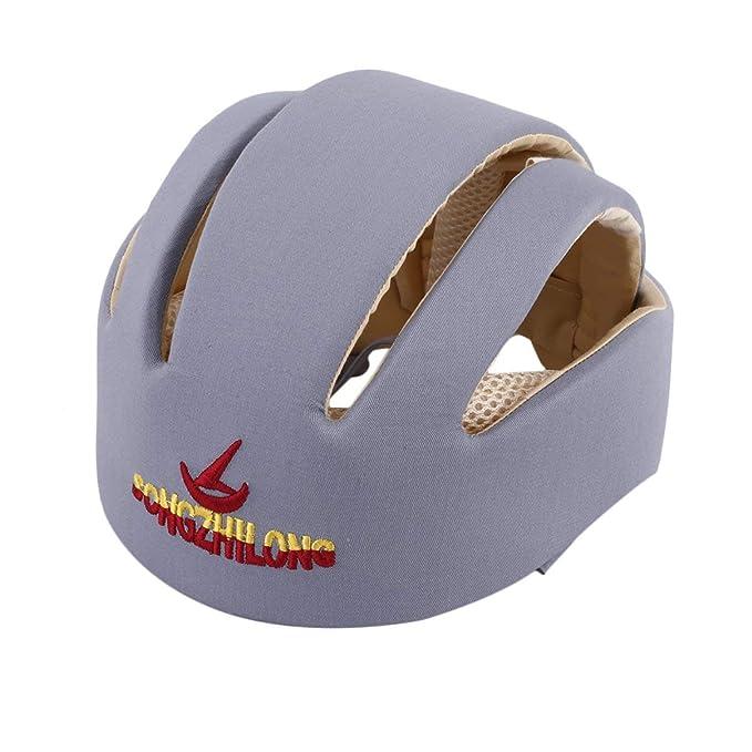 JullyeleESgant Cascos de Seguridad para bebés Sombrero de protección Infantil de algodón para niños recién Nacidos