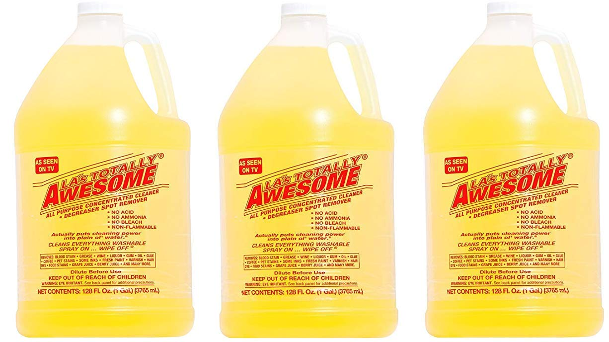 Diluted Bleach Mixture Touted As >> 128oz Refills 1 Bottle Original La S Totally Awesome All Purpose Concentrated Cleaner
