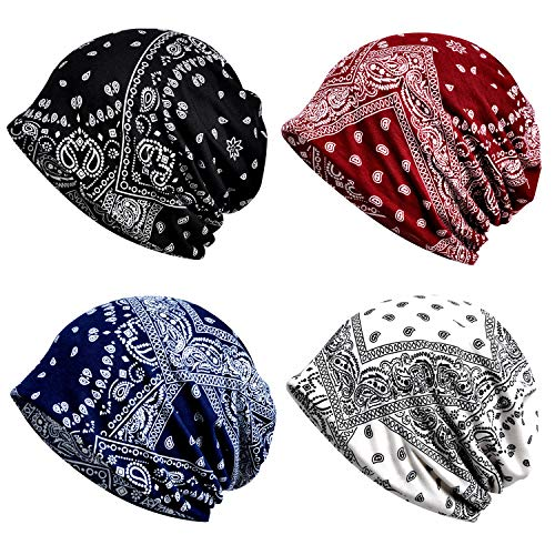 a6a5e2e2475 Cotton Fashion Beanies Chemo Caps Cancer Headwear Skull Cap Knitted hat  Infinity Scarf for Womens Mens