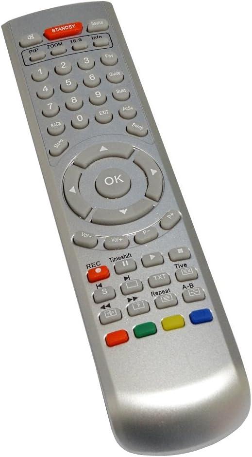 AERZETIX - DIS171 Mando a Distancia para televisor Compatible con ...