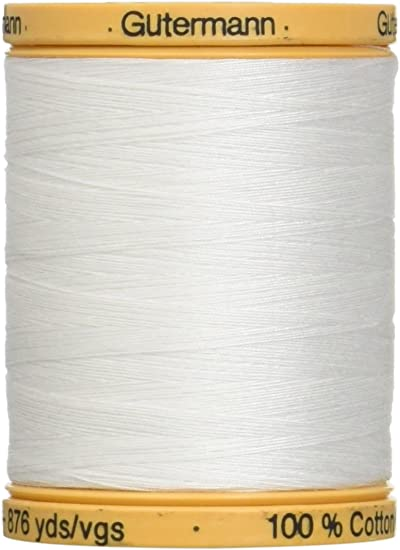 Natural Cotton Thread Solids 876 Yards-Bark Brown