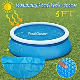5ft Solar Pool Cover Round 5 Foot Inflatable Pool