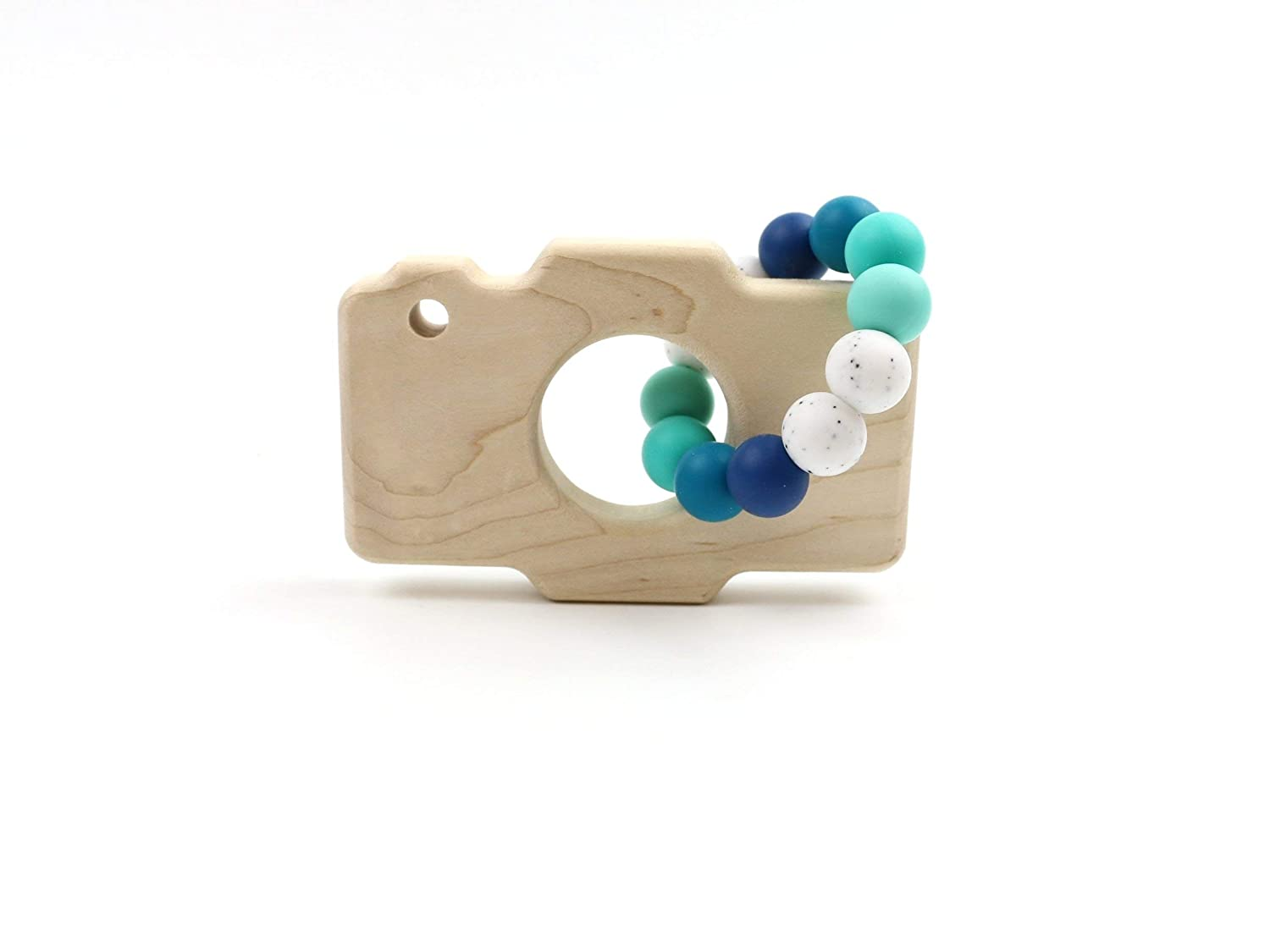 Camera Wooden Teether