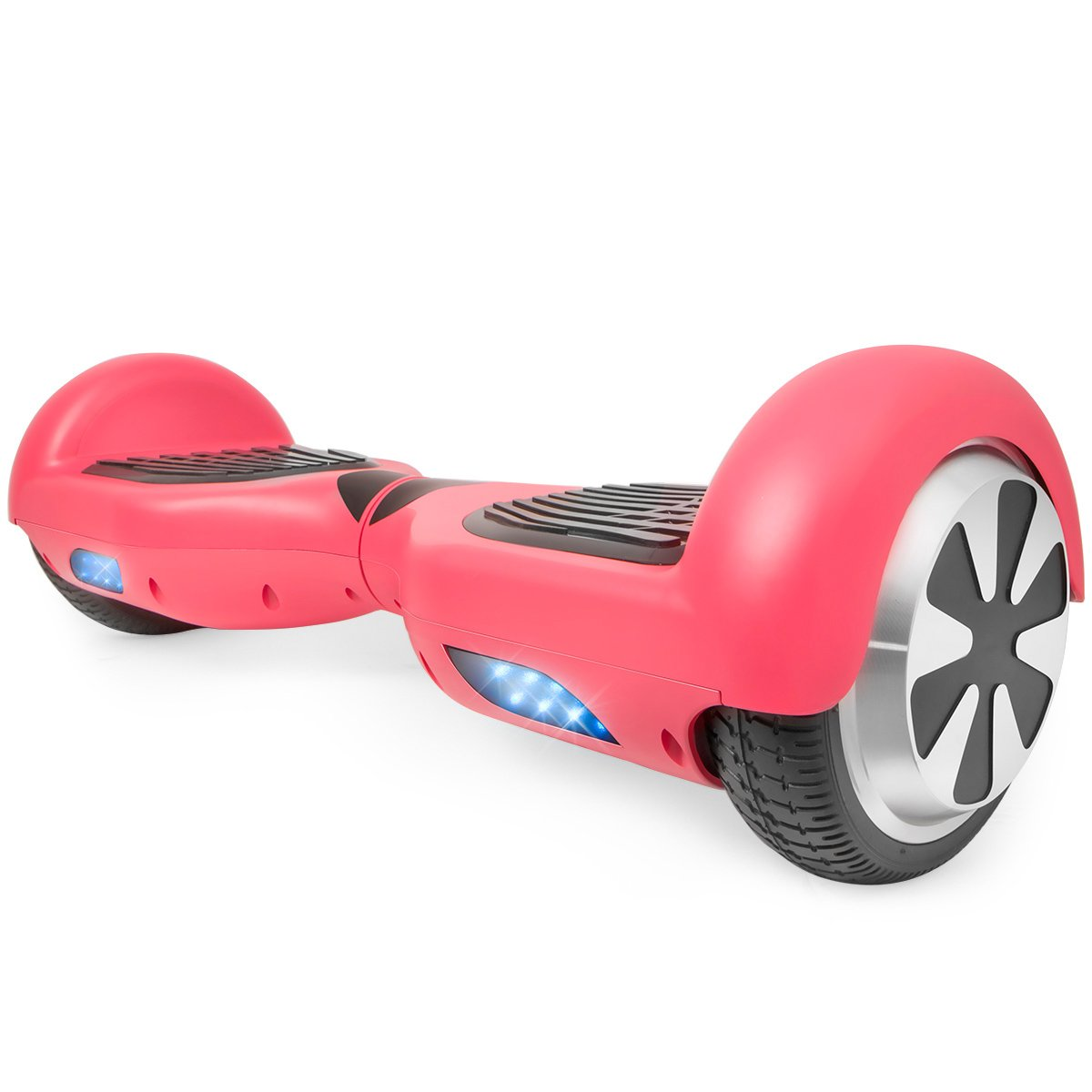 XtremepowerUS 6.5'' Self Balancing Hoverboard Scooter w/ Bluetooth Speaker (Matte Pink) by XtremepowerUS