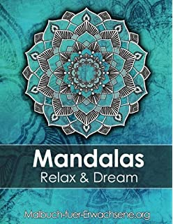Mandala Colouring Book For Adults Meditation Relaxation Stress Relief BONUS 60