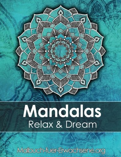 Mandala colouring book for adults: Meditation, Relaxation & Stress Relief: +BONUS 60 free Mandala colouring pages (PDF to -