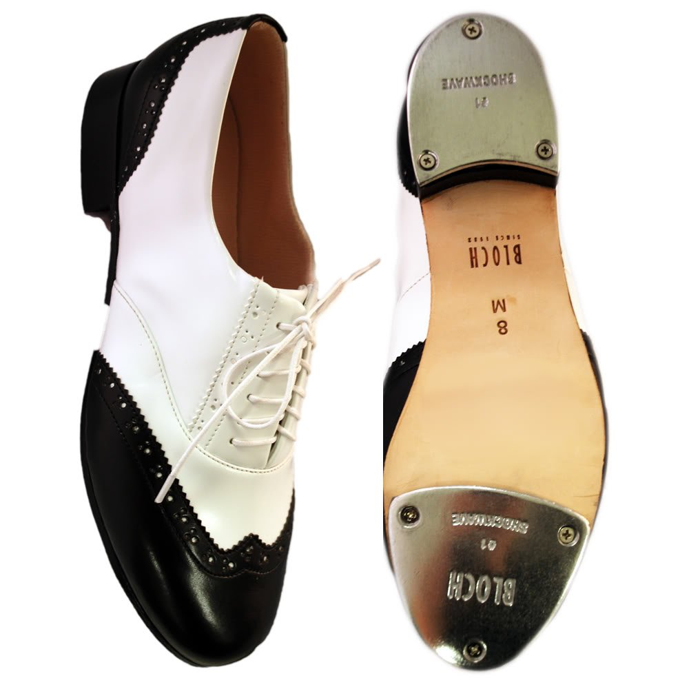 DIY Dance Shoes- Ballroom, Lindy, Swing Bloch 341 Charlston Tap £48.95 AT vintagedancer.com