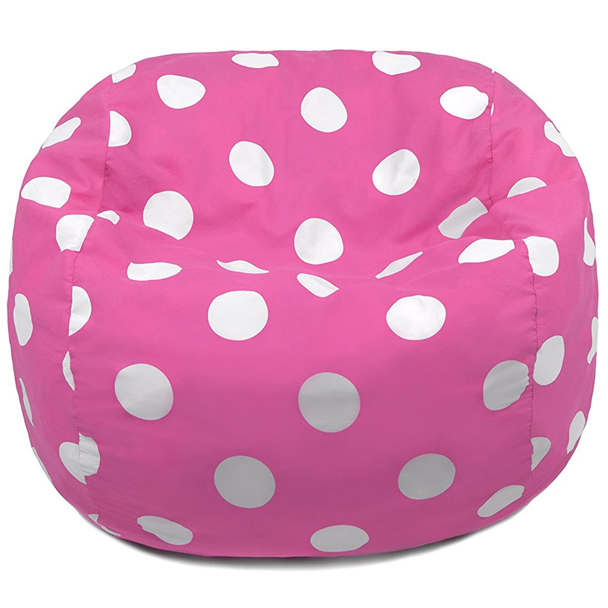Candy Pink Polka Dots Oversized Bean Bag Chair  sc 1 st  Architecture Lab & 17 Best Bean Bag Chairs of 2018 to Consider for Your Living Room ...