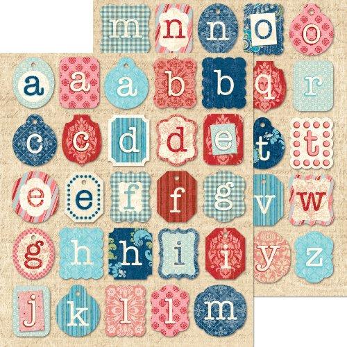 K&Company Colored Alphabet Die-Cut