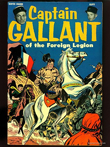 Captain Gallant of the Foreign Legion #1 FN/VF 7.0 Tongie Farm Collection Pedigree