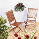Gartenstuhl klappbar aus Akazie