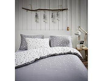 Esprit Bettwäsche Raining Stars Grau 200x220 Amazonde Küche