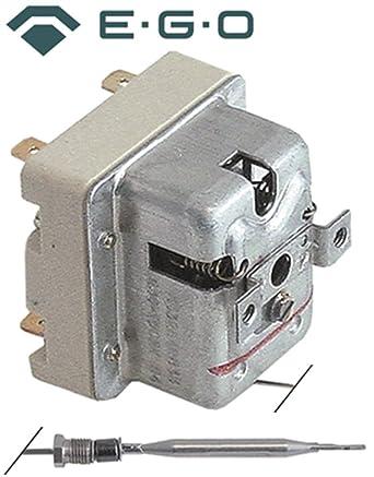 Seguridad Termostato EGO Tipo 55.32542.833 para gas de fritura, Caldero rodillo de cocina