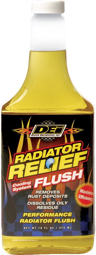 DEI 040202 Radiator Relief Cooling System Flush, 16 oz. by Design Engineering