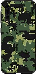 اوكتيك كفر حماية غطاء جراب متوافق مع هواوي بي 20 برو خلفية صلبة واطراف مرنه ممتص للصدمات - تصميم مطفي متعدد الألوان بواسطة اوكتيك