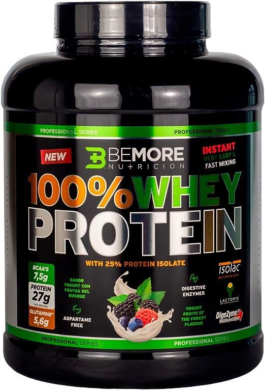 Proteína 100% Whey Protein Professional. Sabor Yogurt Frutas ...