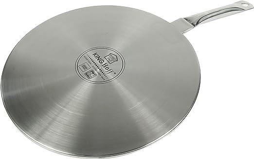 Premium calidad Difusor de calor placa de inducción convertidor adaptador de Inducción 23 cm o 19 cm Ø23cm: Amazon.es: Hogar