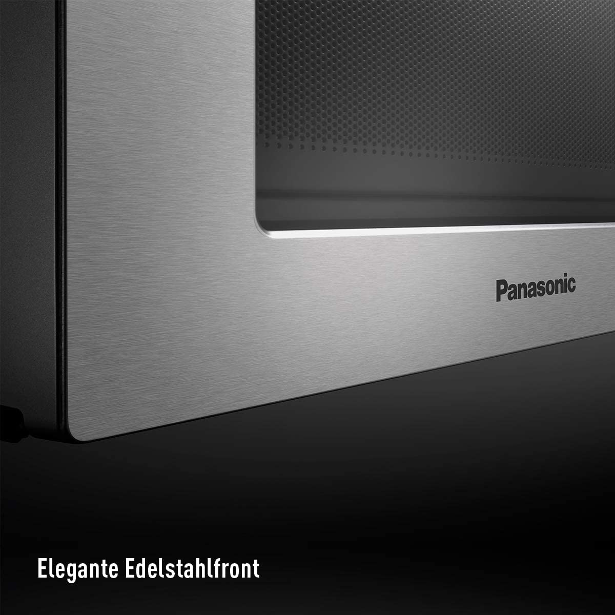 Panasonic NN-S29KSMEPG Solo Mikrowelle 800 Watt, 20 Liter edelstahl