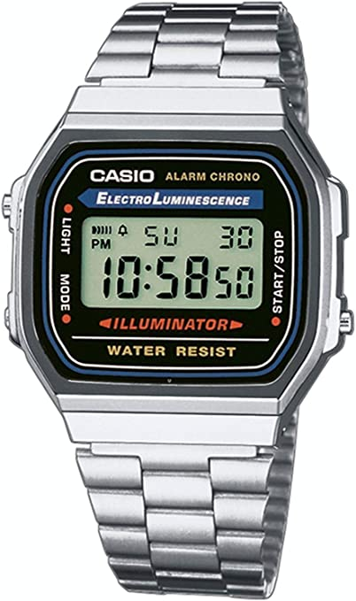 Montre Mixte Casio Collection A168WA: : Montres  SeE35