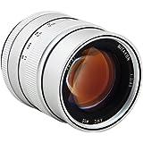 Zhongyi Mitakon objectif à grande ouverture 85mm f/2.0 (argenté) pour les caméra de Canon EF