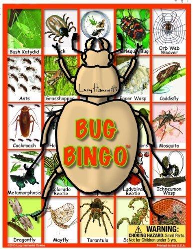 Bug Bingo Board Game by Lucy Hammett Games (English Manual)