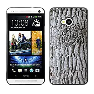 Hot Style Cell Phone PC Hard Case Cover // M00308878 Bark Tree Log Nature Structure // HTC One M7
