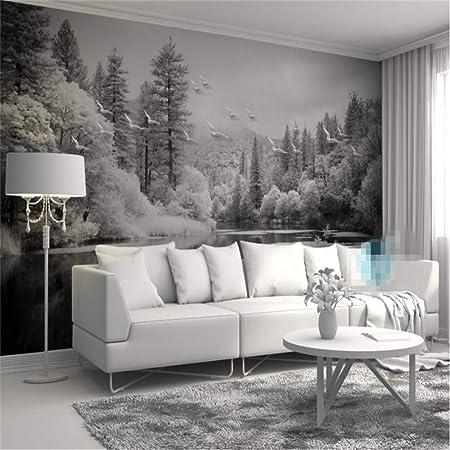Peinture Murale Fond 3d Personnalisé Chambre à Coucher Cool