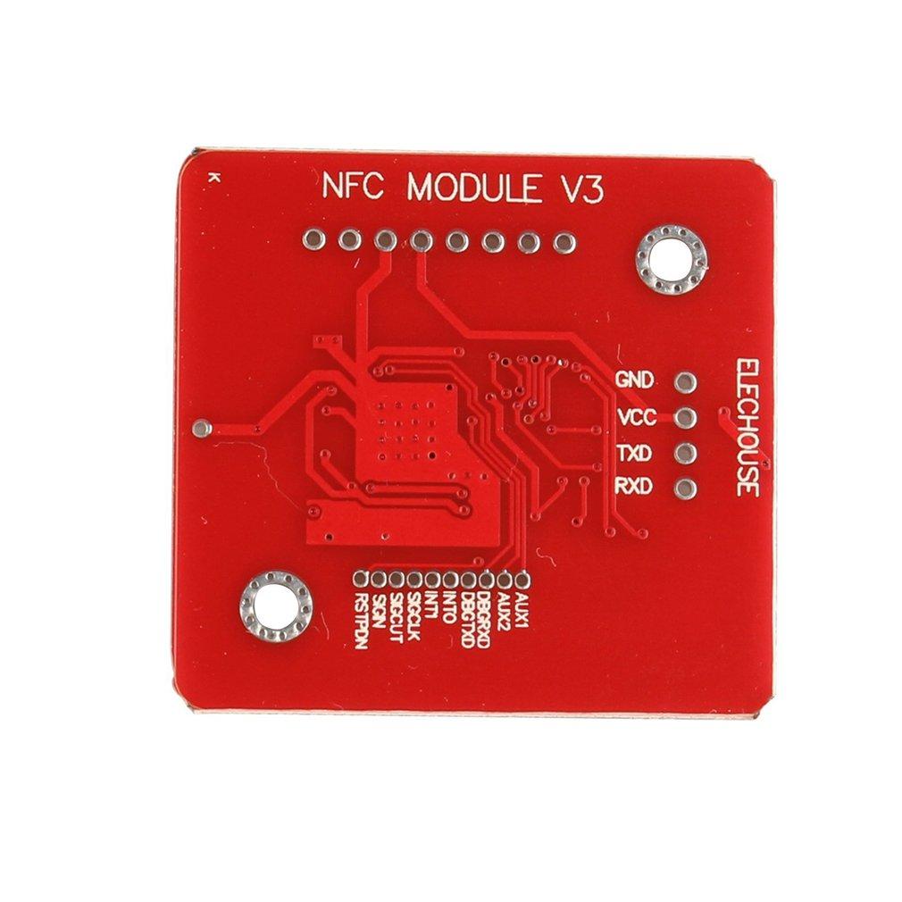 HiLetgo PN532 NFC NXP RFID Module V3 Kit Near Field Communication Reader  Module Kit I2C SPI HSU with S50 White Card Key Card for Arduino Raspberry  Pi