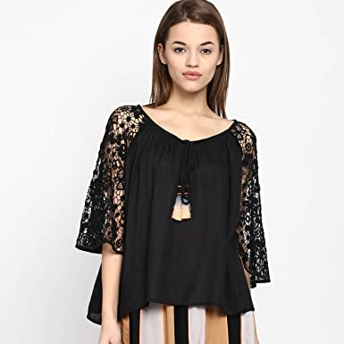 Scarlet Ross Dressy Evening Peasant Top For Girls And Womens At