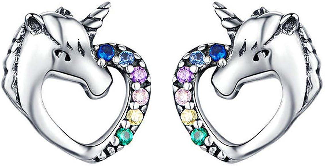 TIGER EARRINGS 925 Sterling Silver Earrings Studs Girls Cute Kids Christmas Gift