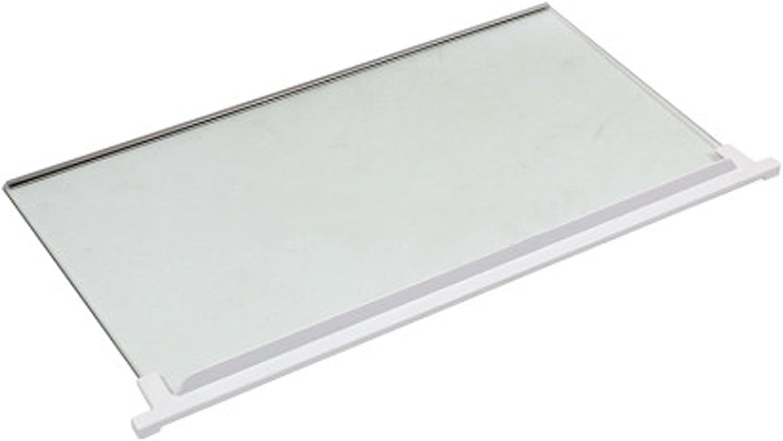 White Plastic Shelf Adjustable Rack Extendable Arms Fits IKEA Fridge Freezer