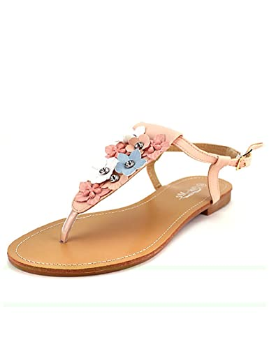 Chaussures femme sandales des tongs rose 41 7g9FhoV