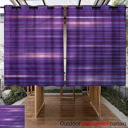 Amazon.com: Sunnyhome - Cortinas con ojales para interior y ...