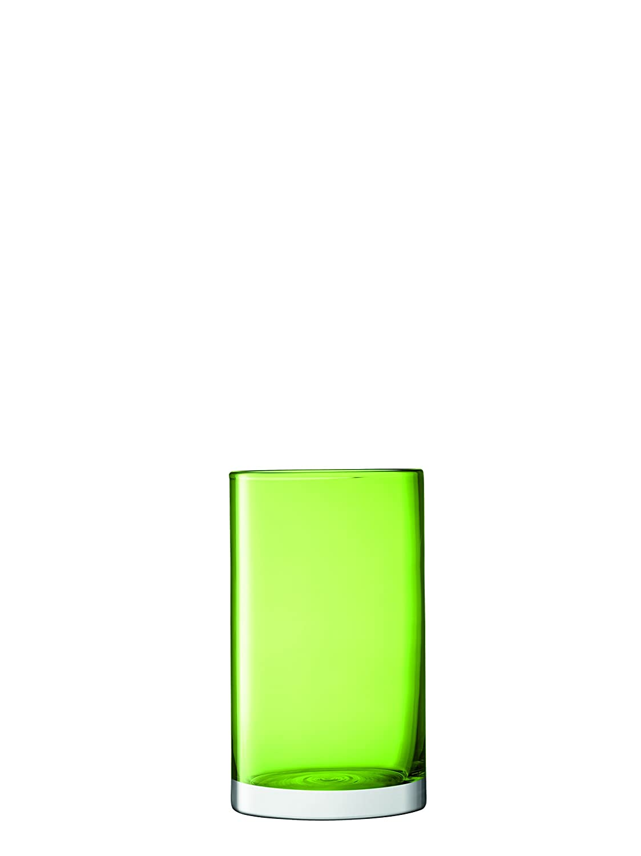 LSA International Flower colour Cylinder Vase/Lantern H25cm Amber G1307-25-835