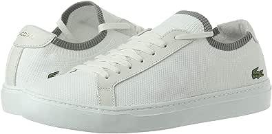 Lacoste La Piquee Fashion Sneakers Shoes For Men, Size 46 EU, Off White