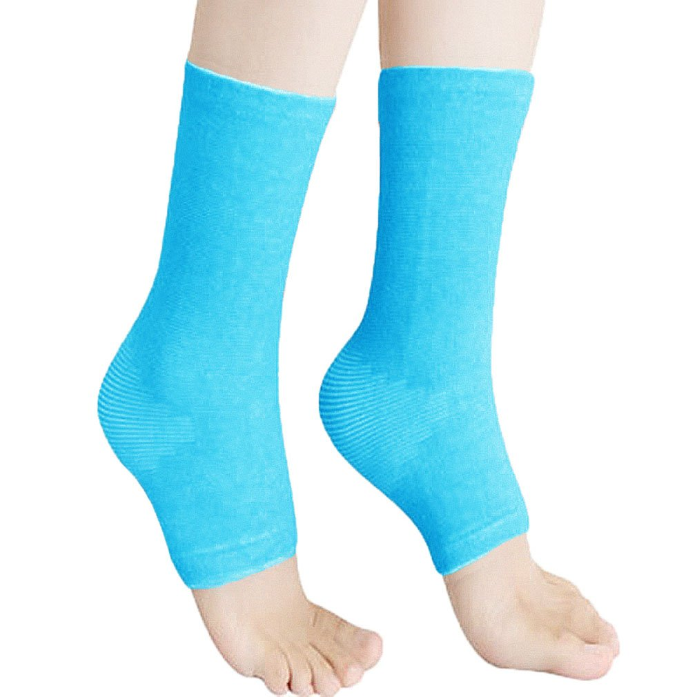 00f039d5b4 Amazon.com: Hoerev Bamboo Ankle, Ankle Support, Ankle Foot Sleeve, Pack of  2: Health & Personal Care