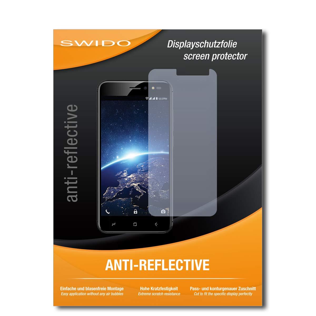 Intex Indie 15用SWIDOスクリーンプロテクター[2枚組]反射防止マット高硬度傷防止/スクリーンプロテクター/強化ガラスフィルム   B07MZYCD7H