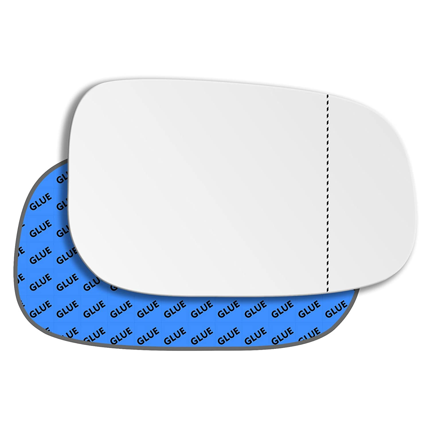 Hightecpl 92RAS Right Hand Driver Off Side Wide Angle Wing Mirror Glass Replacement Channel Autoparts Limited
