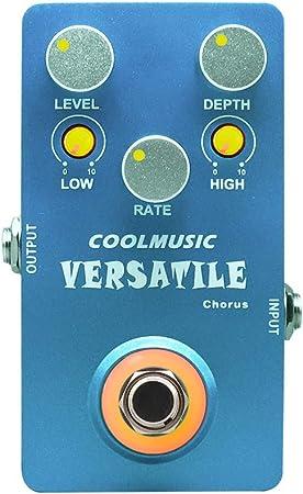 Coolmusic C-CH02 Pedal de efectos de guitarra de coro ...