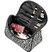 Joybuy 1Pc portátil Lady Cosmetic Bag Zebra Line