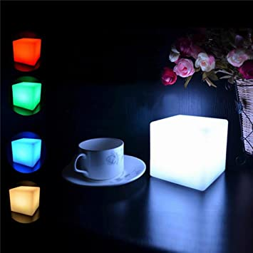 Tuscom LED Cubes Colorful Changing Mood Lights Night Light