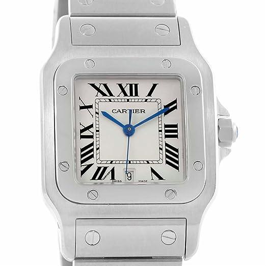 Cartier Santos W20060D6 Reloj para Hombre de Cuarzo (Certificado) de Segunda Mano: Cartier: Amazon.es: Relojes