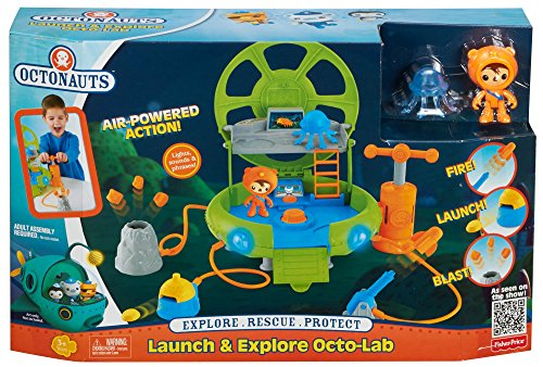 [Fisher-Price Octonauts Launch and Explore Octo-Lab] (Animal That Starts With J)