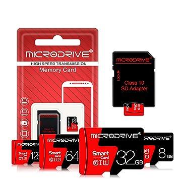 LJ1 Tarjeta de Memoria TF, Tarjeta Micro SD de 16GB / 32GB ...