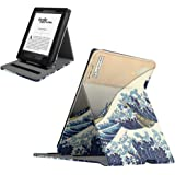 Fintie Flip Case for Kindle Paperwhite - Vertical Multi-Viewing PU Leather Cover with Auto Sleep/Wake for All-New Amazon Kindle Paperwhite (Fits All 2012, 2013, 2015 and 2016 Versions), Rough Sea