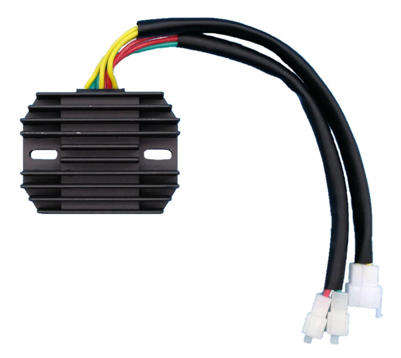 Tuzliufi Voltage Regulator Rectifier Replace Honda VT1100 VT 1100 C3 Aero C2-2 Ace T Tourer C Shadow C2 Sprirt 1987-1990 1991 1992 1993 1994 1995 1996 1997 1998 1999 2000 2001 2002 2003 2004 2005 Z47 Generic 5559109937